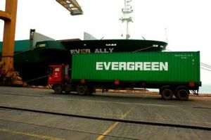 Evergreen Marine Shipping Container to Melbourne/Sydney/Fremantle