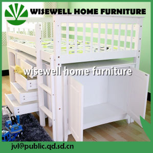 Pine Wood Futon Children Bedroom Furniture (WJZ-B1620) pictures & photos
