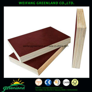 15mm One Time Hot Press Quality Fillm Faced Plywood with Black Film pictures & photos