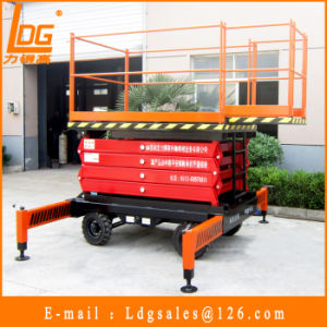 Hydraulic Manual Scissor Lift Table (SJY0.5-4) pictures & photos