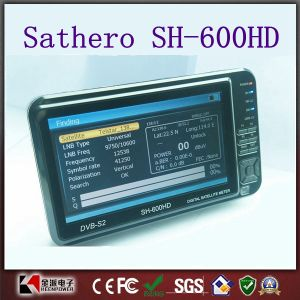 7 Inch LCD Sathero Sh-600HD DVB-S2 Digital Satellite Finder pictures & photos