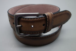 New Fashion Vintage Style Men′s Leather Belt (EUBL1416-40) pictures & photos