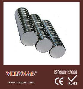 Disc Neodymium Magnets 3-8 X 1-8 Inch N48 Rare Earth
