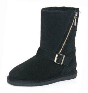 Women′s New Style Sheepskin Boots. RW80256W