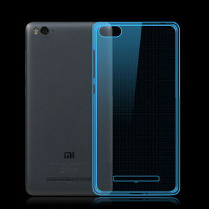 Ultra Thin Cell Phone Case Soft Flexible Clear Transparent TPU Cover Case for Xiaomi 4c