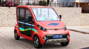 Factory 4 Seater Household Electric Car pictures & photos