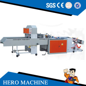 Hero Brand Zipper Bag Making Machine Price pictures & photos