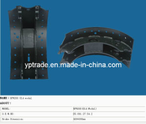 BPW Brake Shoe, Truck Brake Shoe, Trailer Brake Shoe (BPW Old 180)