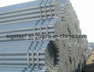 Hot Dipped Galvanized Round Steel Tube for Construction pictures & photos