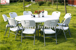 Strong 6 Foot Round Folding Table for Sale pictures & photos
