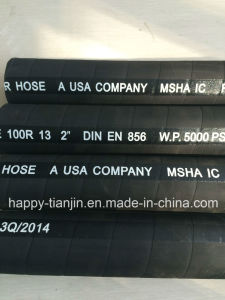 R13 Four or Six Wire Spiral High Pressure Rubber Hydraulic Hose pictures & photos