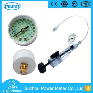 40mm Plastic Oxygen Gauge Medical Gauge High Pressure for Inflator pictures & photos