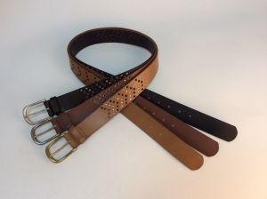 Regular Display Studded Entire Strap Belt