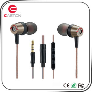 Mobile Phone Accessories Stereo Sounds Earphones with Noise Cancelling