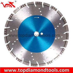 Laser Welded Diamond Blade with Mix and Drop Segments pictures & photos