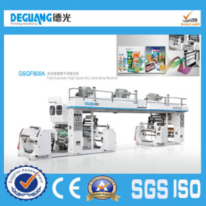 Fully Automatic High-Speed Dry Laminating Machine pictures & photos