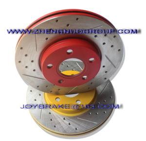 Colorful Auto Brake Disc for Spare Car Parts of Porsche pictures & photos