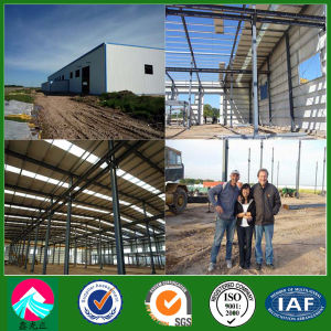 Algeria Portal Frame Workshop / Warehouse Construction (XGZ-SSW 188) pictures & photos