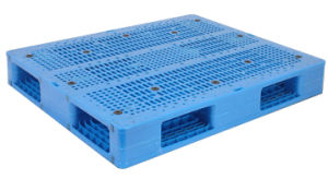 1200*1000 Open Deck Heavy Duty Plastic Pallets with Rack 1 Ton pictures & photos