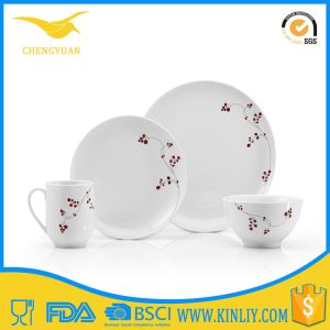 China Product Round Bowl Cup Plate Melamine Dishware pictures & photos