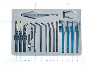 China Micro-Surgical Instruments Set for Phaco (SYX17) pictures & photos