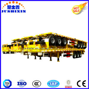 1/2/3/4 BPW Axles 20FT 40FT Container/Utility/Cargo Flatbed/Platform Truck Semi Trailer pictures & photos