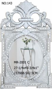 Modern New Framed Home Decorative Wall Rectangle Venetian Mirror pictures & photos