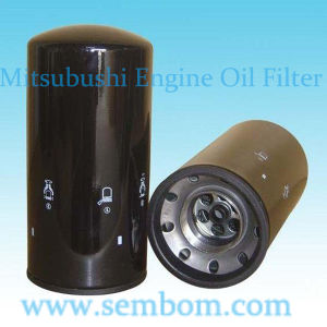High Performance Engine Oil Filter for Mitsubishi Excavator/Loader/Bulldozer pictures & photos