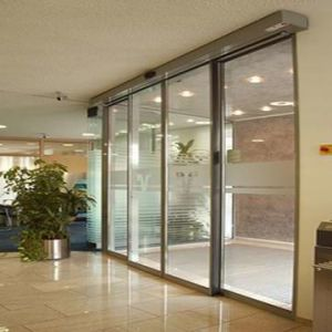 China 6years Warranty with CE Commercial Automatic Sliding Glass