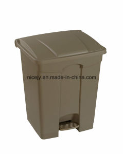 68 L Plastic and Colorful Outdoor Waste Bin/Compost Bin/Dustbin/Garbage Can/Trash Can pictures & photos
