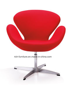 Modern Swivel Aluminium Fiberglass Wool Restaurant Chair pictures & photos