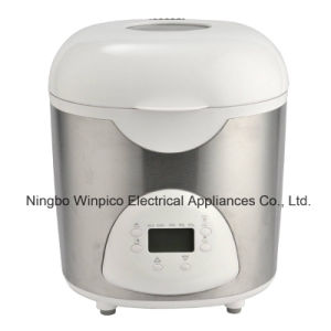 2-Pound Programmable Electric Breadmaker, White, Black or Stainless Steel pictures & photos