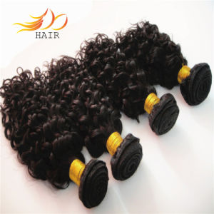 6A Unprocessed Jerry Curl Virgin Peruvian Hair Weaving pictures & photos