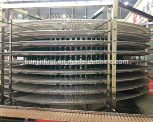 Full Automatic Spiral Conveyor Toast Spiral Cooling Tower pictures & photos