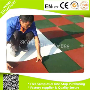 Gym Rubber Floor Mat Anti-Slip Rubber Floor Mat pictures & photos
