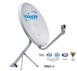 35cm Ku Band Satellite Dish Antenna TV Antenna pictures & photos