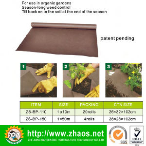 PP Woven Fabric Weed Barrier Mat pictures & photos