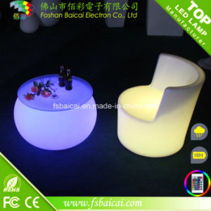 Cheap Bar LED Furniture on Sale Plastic Chair Unique Bar Furniture