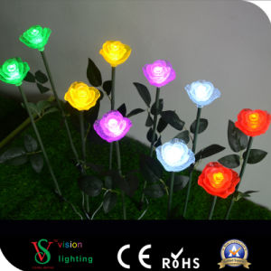 Outdoor Decoration LED Rose Flower Lights pictures & photos