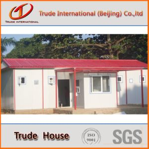Prefabricated/Mobile/Modular Building/Prefab Sandwich Panels Low Cost Private Family House pictures & photos