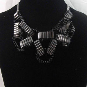 New Item Black Steel Box Chain Fashion Jewelry Necklace pictures & photos