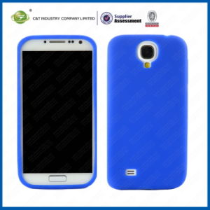 Blue Silicone Cover Case for Samsung Galaxy S4 I9500 pictures & photos