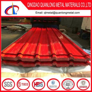 Color Coated Corrugated Sheet for Decoration pictures & photos