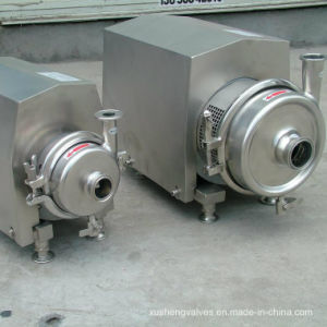 Stainlss Steel Sanitary Milk Centrifugal Pump with Closed Impeller pictures & photos