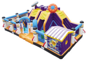 Cheer Amusement Space Themed Inflatable Fun City Amusement Equipment pictures & photos