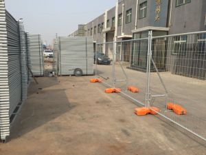 42 Microns Hot Dipped Galvanized Portable Construction Temporary Fence Panels pictures & photos