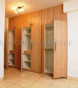 6 Door Wooden Wardrobe Closets in Bedroom Set (SZ-WD060) pictures & photos