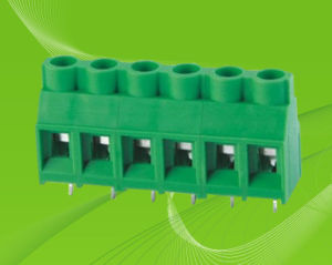 PCB Screw Terminal Block with Rising Clamp pictures & photos