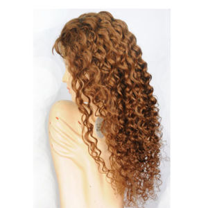 Unprocessed European Hair Front Lace Jewish Wig