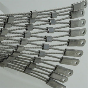 Hand-Woven Flexible Stainless Steel Cable Mesh pictures & photos